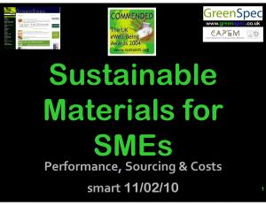 SustainableBuildingMaterialsSME
