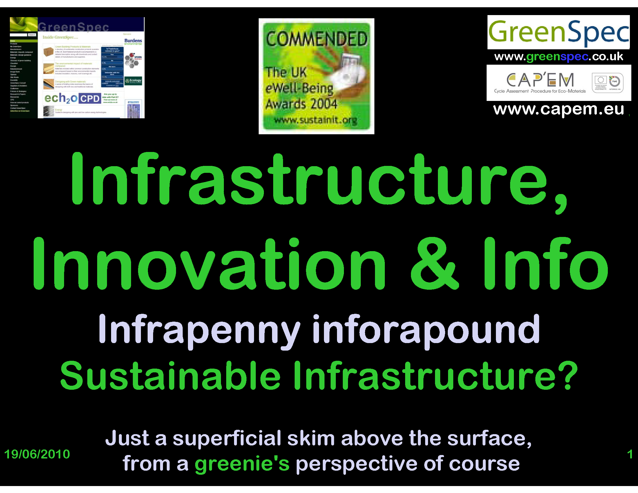 Sustainable Infrastructure (CPD) at NISP PNG