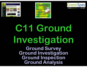 Tech+Env3C11GroundInvestigation