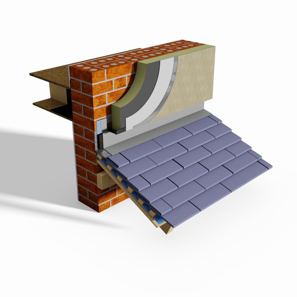 Thermo Flash Thermal Break Roof Flashing (RSA) GBS M21 280E G#9530