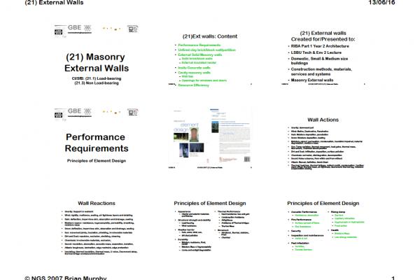 GBE Lecture(21)MasonryExtWalls 9H1