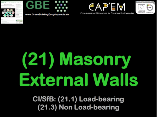 GBE Lecture (21) Masonry Ext Walls S1