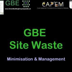 GBE Site Waste 20 CPD Cover