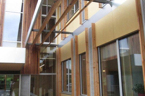 UEA Enterprise Centre Entrance Courtyard