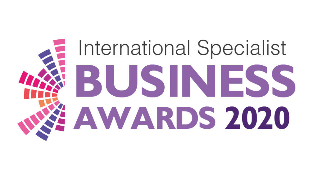 International Specialist Business Awards 2020 Logo PNG