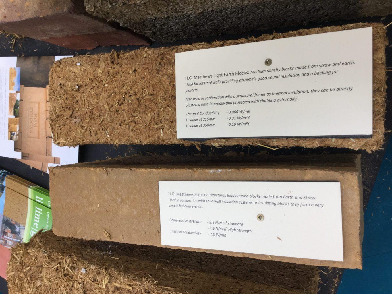 H G Mathews Light earth and Earth-Straw blocks