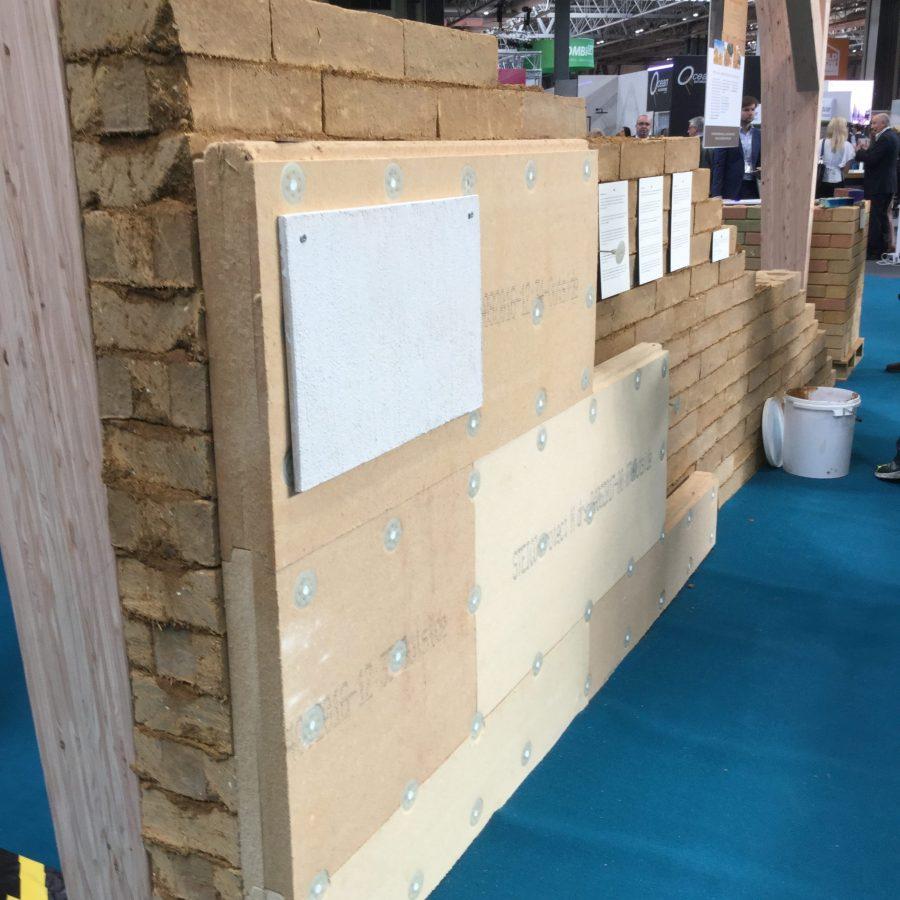 Stocks frame wall insulation render Breathing Sheathing Board