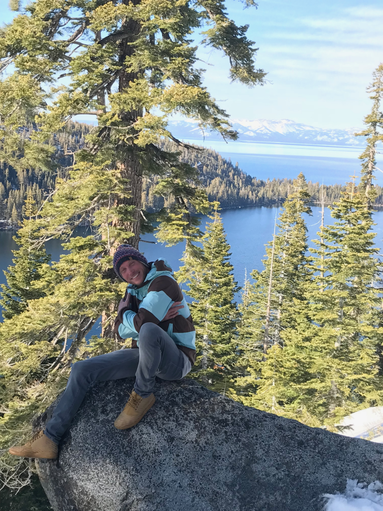 Ben Trundle California 2018 Lake Tahoe