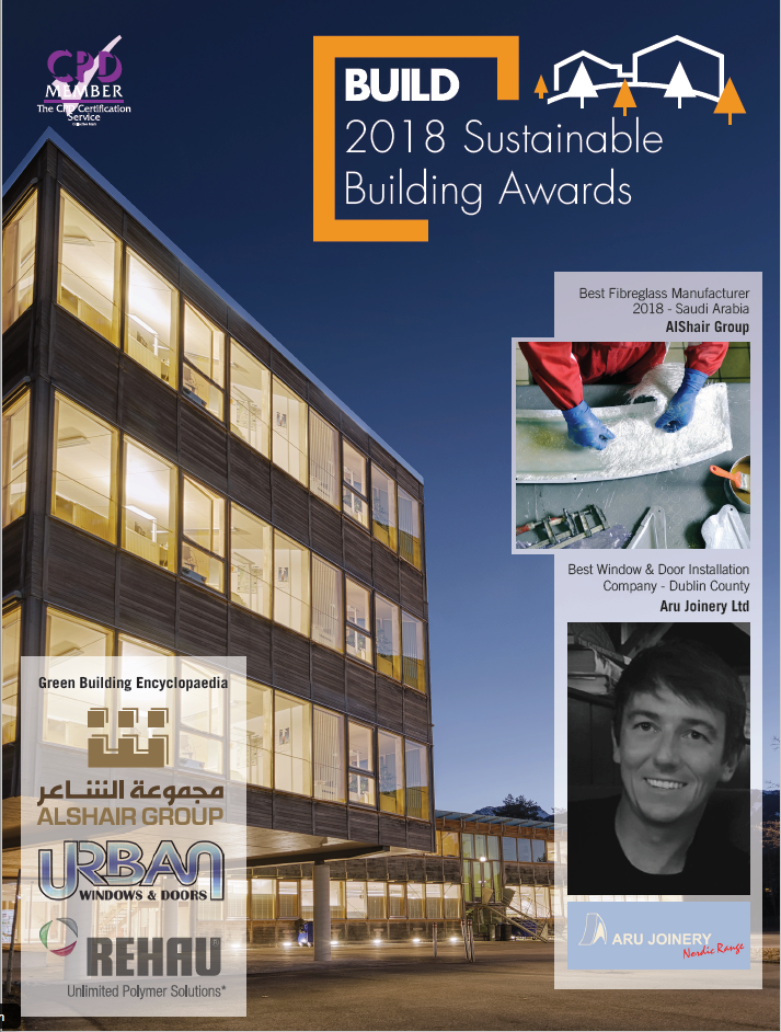 2018 Sustainable Building Awards - COVER GBE
