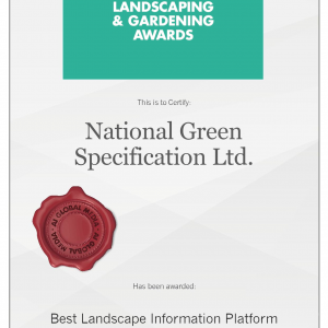 BUILD Landscaping & Gardening Award 2017