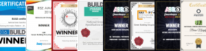 Green Building Encyclopaedia GBE 8 Award Banner
