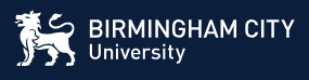 Birmingham City University Logo PNG