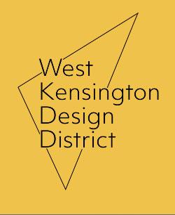 west Kensington design district logo
