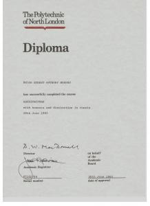 PNL Diploma Architecture