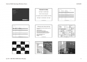 GBE Lecture WallOpeningWindowDoor A02 BRM 221018 9H1 PDF Handout Cover