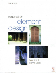 POED Principles of Element Design Cover 3