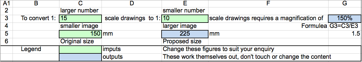 Scale Changer Calculator PNG