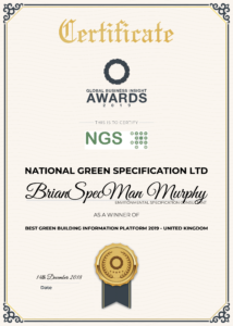 2019 Best Green Building Information Platform 2019 United kingdom PNG