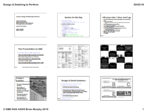 GBE Lecture DesignToPerform A02BRM200219 9H1 Handout Cover PNG