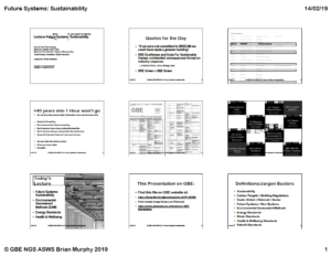 GBE Lecture Future Systems Sustainability A03 140219 9H1