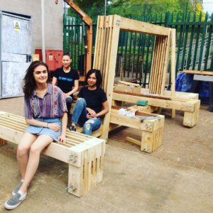 UH Bench Assembly Rest Leila Alighanbari, Dilyana