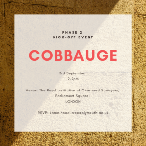 CobBauge Phase 2 Start Flyer Yellow