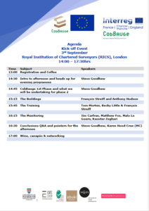 Cobbauge Phase 2 Agenda 1 Afternoon