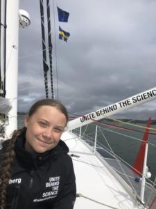 Greta Starts Atlantic crossing