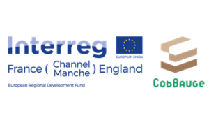 Interreg Channel CobBauge Logos