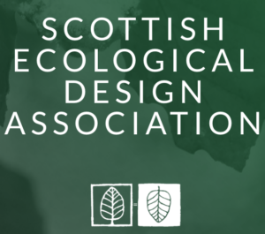 SEDA Scottish Ecological Design Association and Logo