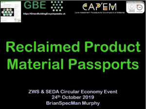 GBE CPD Reclaim Product Materia Passport ZWS SEDA 291019 S1 PNG