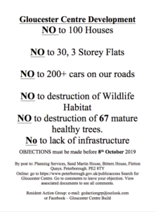 Gloucester Centre A3 Objection Poster