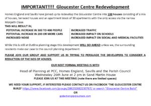 Gloucester Centre Site A5 flyer