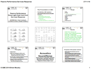5CTA1140 Lecture 06A Passive Performance Services Response GBE A02 BRM 271119 9H1 PNG