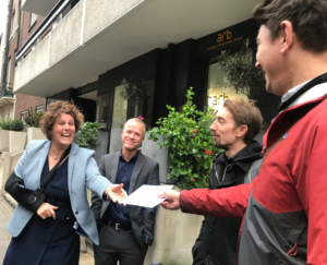 ACAN 395 Signatures to ARB in support of Tom Bennett