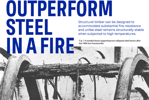 ACAN Timber can outperform Steel in a fire