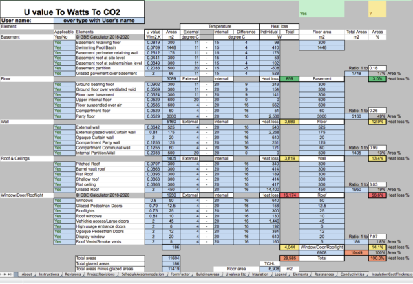 GBE Green Building Calculator U To Watts To CO2 A13 BRM 210520 PNG