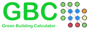 GBE Green Building Calculator Logotype Draft PNG