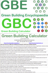 GBE Green Building Calculator Welcome A14 BRM 110620 PNG