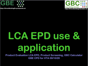 GBE CPD LCA EPD ProductEvaluation S1 PNG