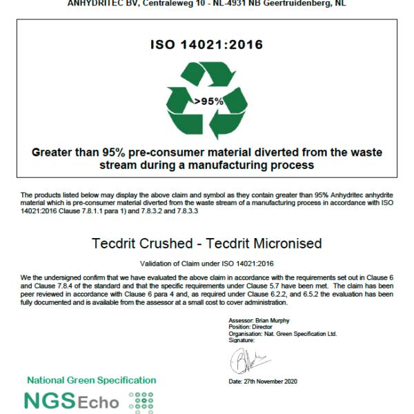NGS Echo Certificate TECDRIT FR SAS 2020-11-30 png Anhydritec Limited ManufacturerNGS Echo Certificate TECDRIT FR SAS 2020-11-30 png Anhydritec Limited Manufacturer