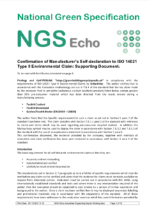 NGS Echo Supporting Report 2020-11-30 png Anhydritec Limited Manufacturer