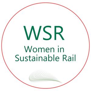 Women in Sustainable Rail WSR Logo