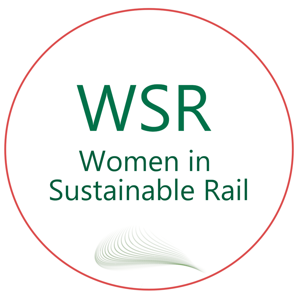 Women in Sustainable Rail WSR Logo