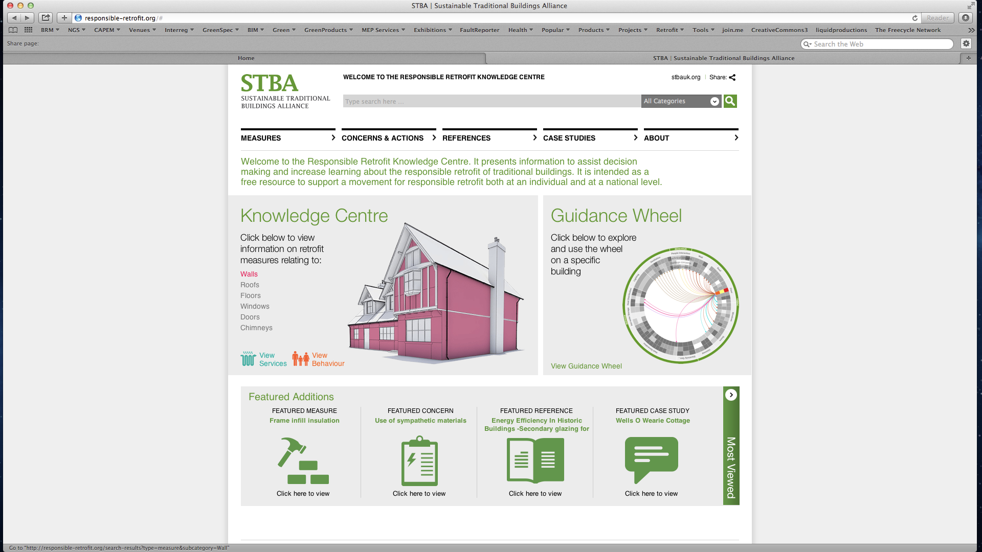 STBA Knowledge Centre Walls Page png