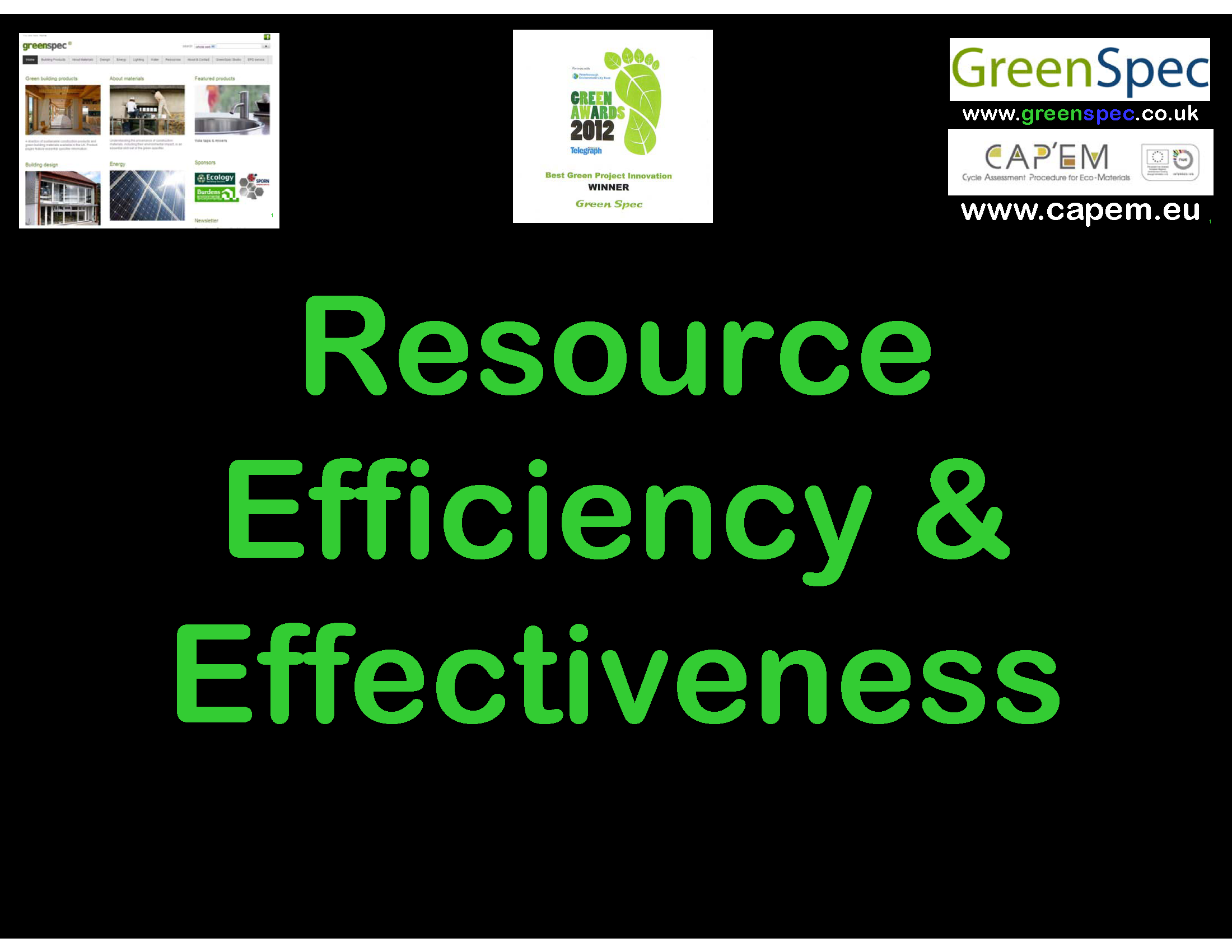 Resource Efficiency V Effectiveness Cover png