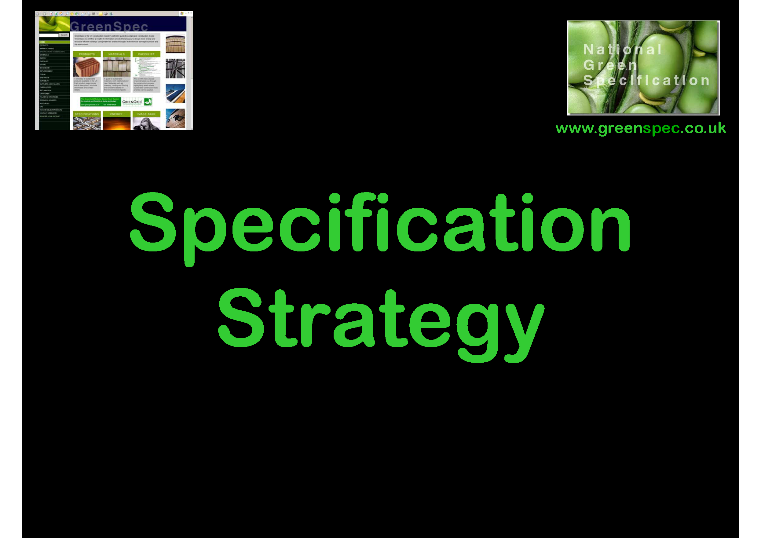 Specification Strategy CPD Cover png