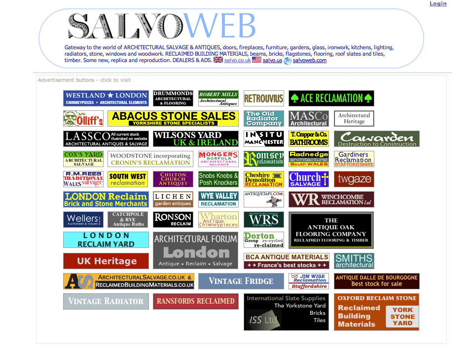 Salvo Web page png