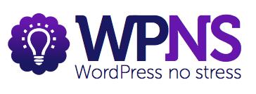 WordPress No Stress logo png