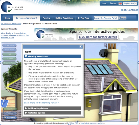 Planning Portal House Pop Up PNG